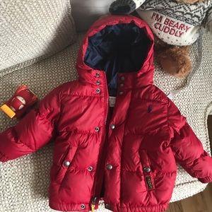 Ralph Lauren kids down jacket